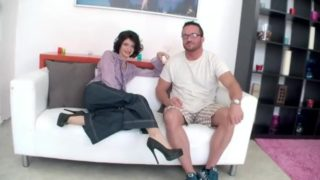 Husband Watches Sexy Skinny Wife Get Fucked