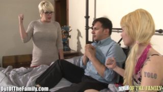 Slut Mother Tests Daughters BFs Cock