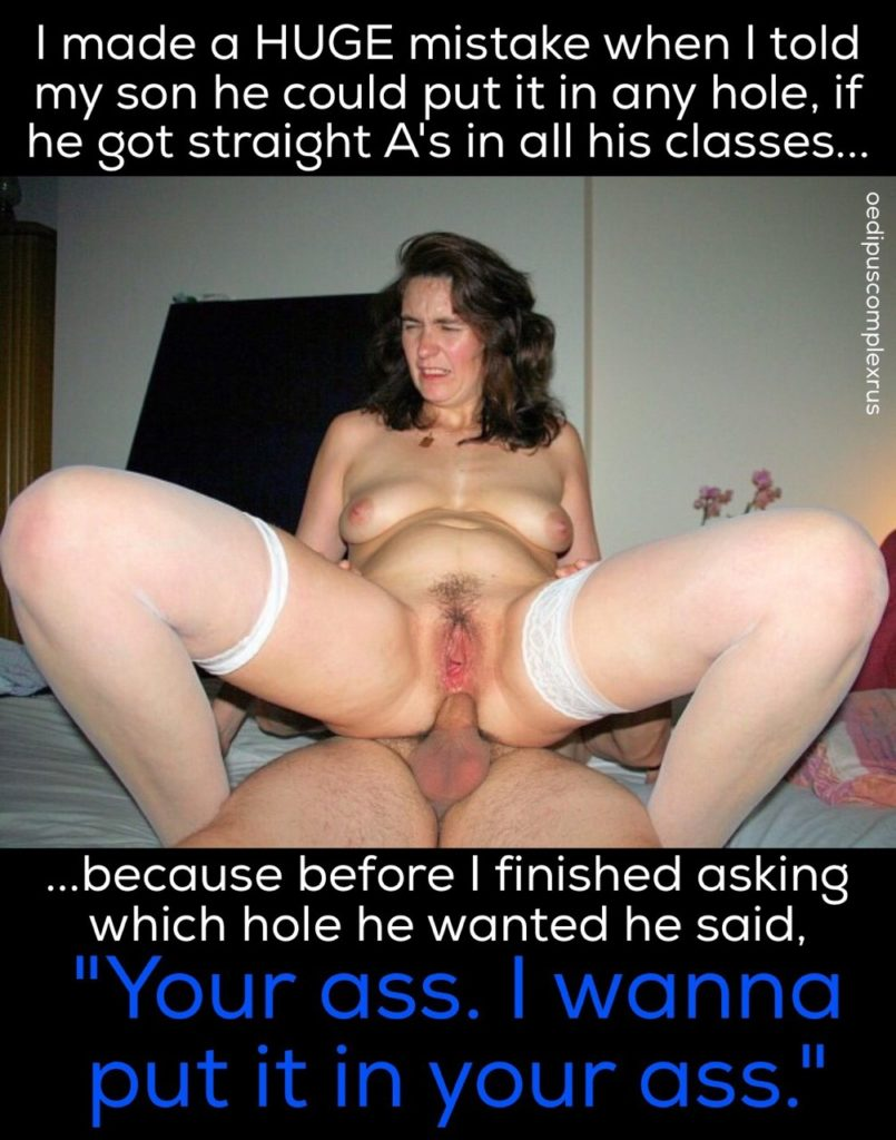 hot mother anal play taboo caption