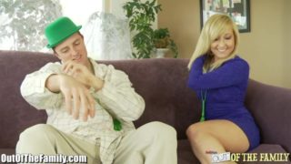 Hot Blonde Sister Seduces StepBrother Incezt
