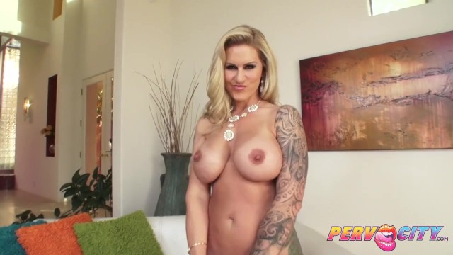Busty Blonde Ryan Conner Anal and Titty fuck PervCity