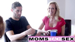 Young Guy Fucks Stepmom GF and Sister Mom Teach Sex