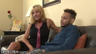 Blonde Cougar Ass fucked by Daughters Black Husband